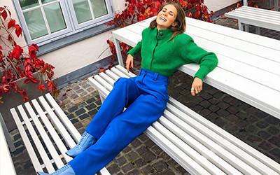 Яркие уличные образы норвежской модницы Nina Sandbech