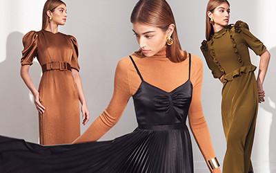 Женственные платья из коллекции Laura Garcia осень-зима 2020-2021