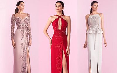 15 красивых вечерних платьев из коллекции Basil Soda Haute Couture 2019
