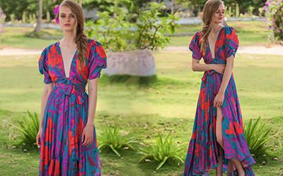 Красочные летние платья из коллекции Glory Ang Atelier 2020