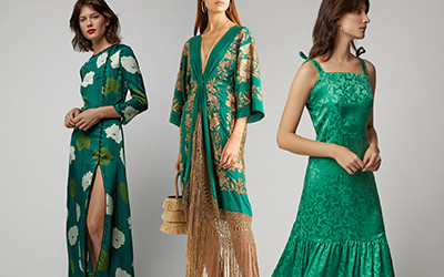 12 красивых бирюзовых платьев на лето