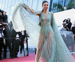 Знаменитости в вечерних платьях от Georges Hobeika