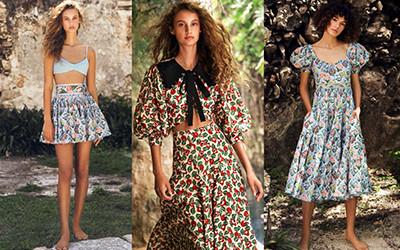 Пляжная женская одежда Agua By Agua Bendita Resort 2022