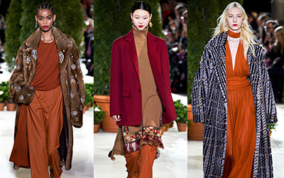 Женская одежда Oscar de la Renta осень-зима 2019-2020