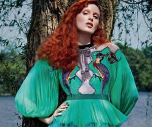 Karen Elson для журнала Harper's Bazaar Russia