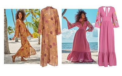 12 летних пляжных платьев из натуральных тканей Carolina K 2020