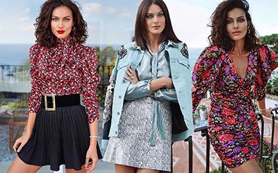 Женственные образы в юбках и платьях модницы Paola Turani