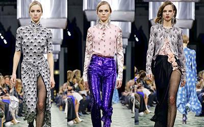 Женская одежда Paco Rabanne осень-зима 2019-2020