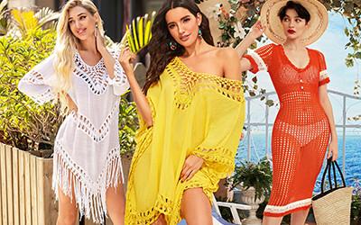 Выбираем платья кроше и кружевные туники не дороже 20$
