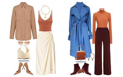 Модные сеты женской одежды осень 2020
