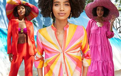 Модная женская одежда Trina Turk весна-лето 2021