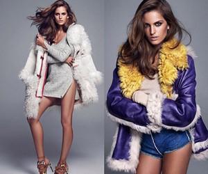 Izabel Goulart на страницах Elle Spain