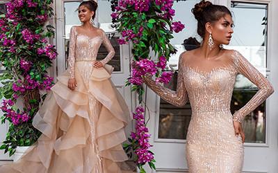 Потрясающе красивые свадебные платья Oksana Mukha 2019