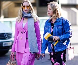Street style на неделе моды в Лондоне осень-зима 2018-2019