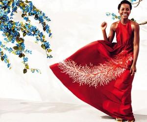 Lupita Nyong'o на страницах Harper's Bazaar UK