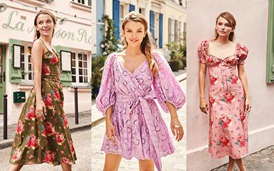 10 женственных летних платьев Charina Sarte 2020