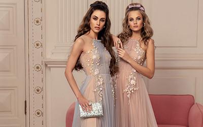 12 романтичных платьев на выпускной от бренда Papilio