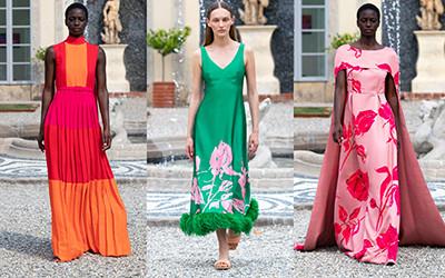 Модная женская одежда Huishan Zhang весна-лето 2022