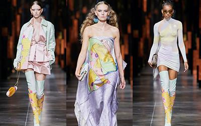 Модная женская одежда Fendi весна-лето 2022