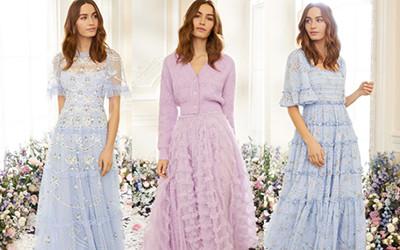 Красивые платья и юбки в романтическом стиле Needle & Thread весна-лето 2021