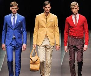 Модная мужская одежда Canali весна-лето 2014