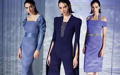Элегантные вечерние платья и костюмы Safiyaa Pre-Fall 2020