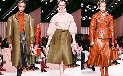 Коллекция женской одежды в деталях Fendi осень-зима 2020-2021