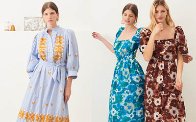 Летние хлопковые платья и юбки Antik Batik 2020