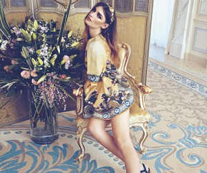 Eugenia Volodina на страницах Harper's Bazaar Ukraine