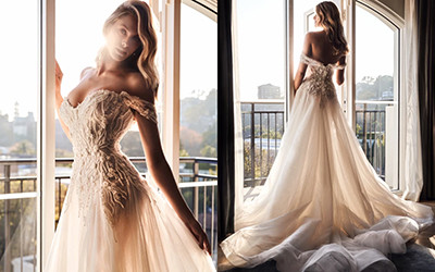 Свадебные платья Leah Da Gloria Boheme 2021