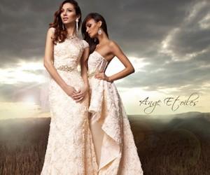 Свадебные и вечерние платья Ange Etoiles 2014