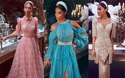 Шикарные вечерние платья Sadek Majed Haute Couture весна-лето 2019
