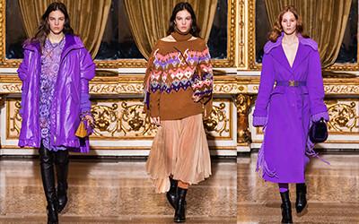 Женская одежда Ermanno Scervino осень-зима 2021-2022