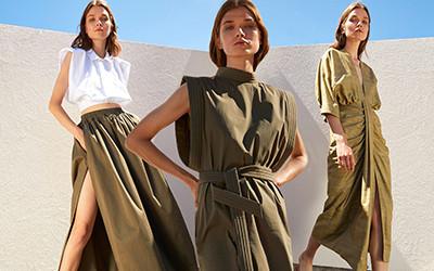 Женская одежда из натуральных тканей на лето 2021 от Piece of White