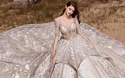 Самые роскошные свадебные платья Julia Kontogruni 2020