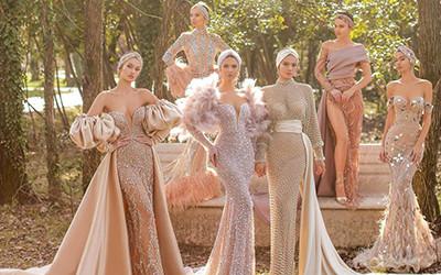 Шикарные вечерние платья Fjolla Nila Haute Couture весна-лето 2021