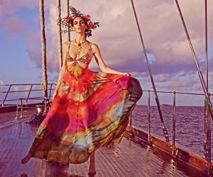 Hilary Rhoda на страницах Vogue Japan