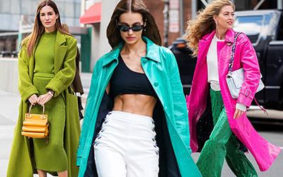 Street style на неделе моды в Нью-Йорке осень-зима 2020-2021