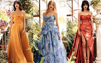 Красивые вечерние платья Tarik Ediz весна-лето 2021