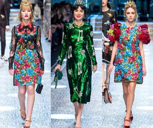 Dolce & Gabbana осень-зима 2017-2018