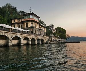 Отель Casta Diva Resort на озере Комо