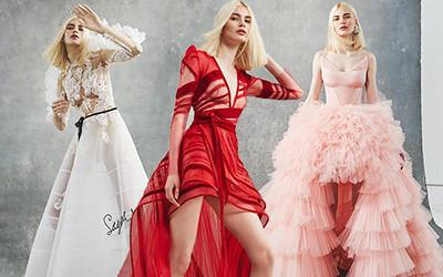 Свадебные и вечерние платья Sagaza Haute Couture весна-лето 2019