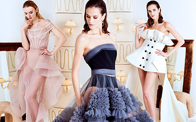 Вечерние платья и костюмы Christian Siriano Pre-Fall 2020