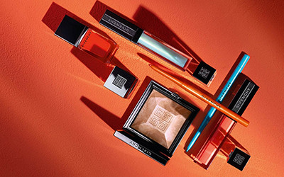 Летняя коллекция макияжа Givenchy Solar Pulse 2019