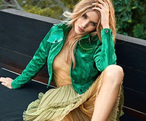 Rosie Huntington-Whiteley на страницах Elle Uk