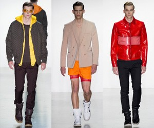 Мужская одежда Calvin Klein весна-лето 2015