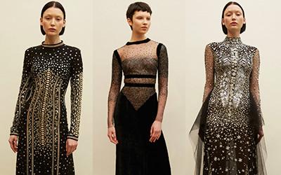 Вечерние платья Reem Acra осень-зима 2019-2020