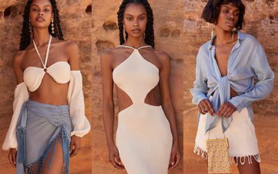 Пляжная женская одежда Savannah Morrow The Label лето 2021