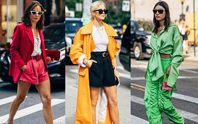 Street style на неделе моды в Нью-Йорке весна-лето 2020