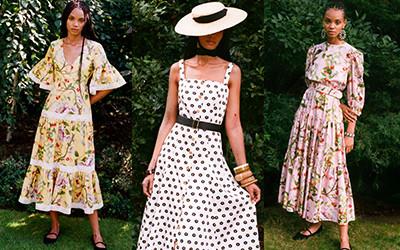 Женственные платья из хлопка Borgo de Nor весна-лето 2021